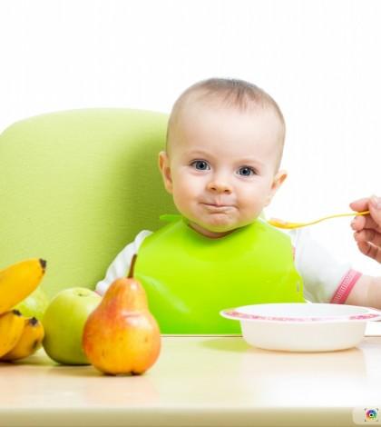 A alimentação saudável nos primeiros meses de vida