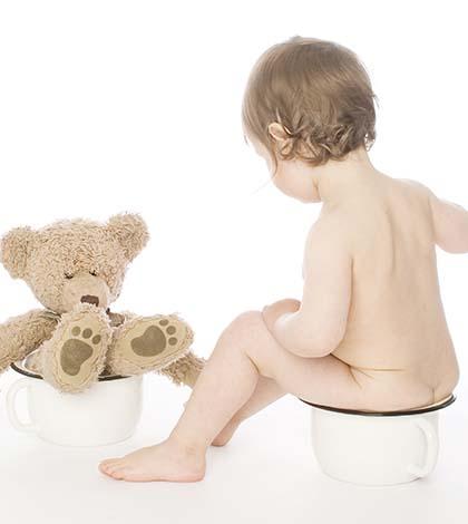 Intestino Preso na infância