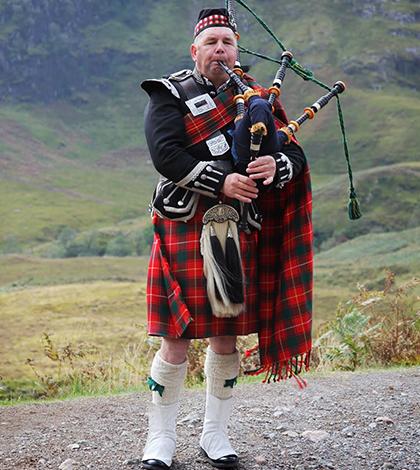 A linda e encantadora Escócia