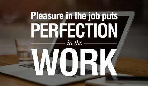 A diferença entre  Work, Job e Office