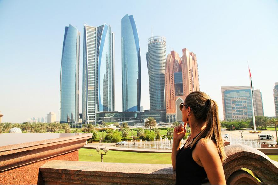 Abu Dhabi – capital dos Emirados Árabes Unidos