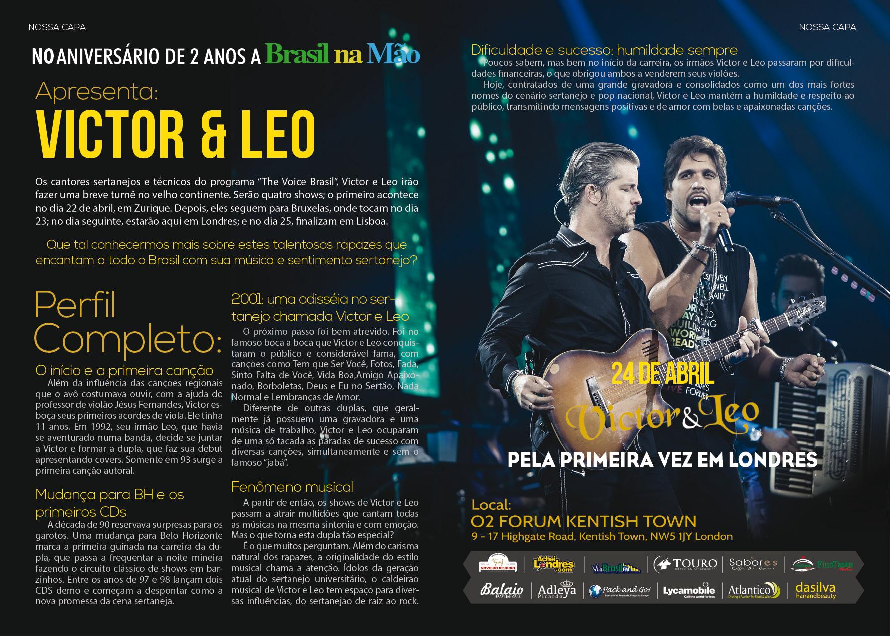 Victor & Leo – Perfil  Completo:
