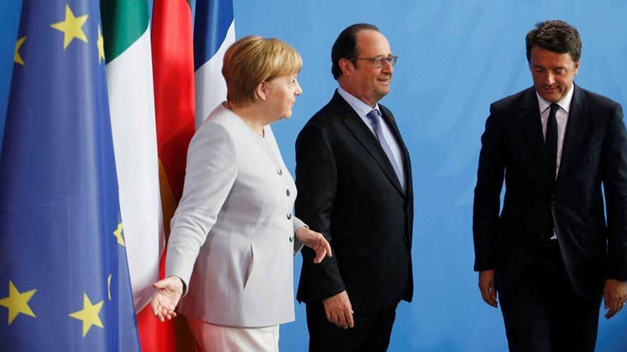 Líderes europeus discutem UE pós-Brexit