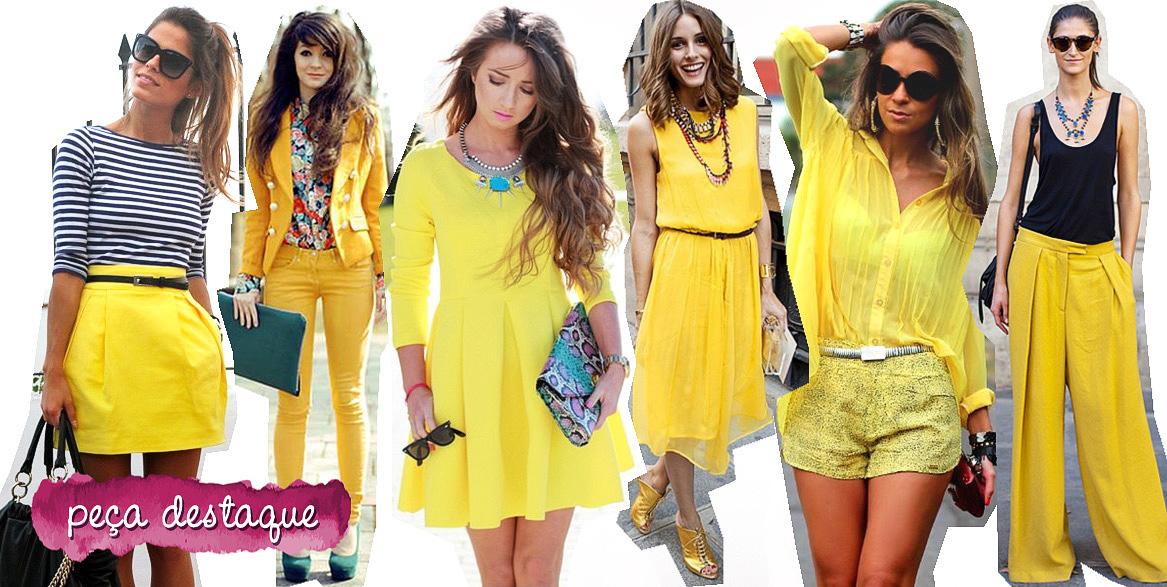 3 dicas para usar  a cor amarela