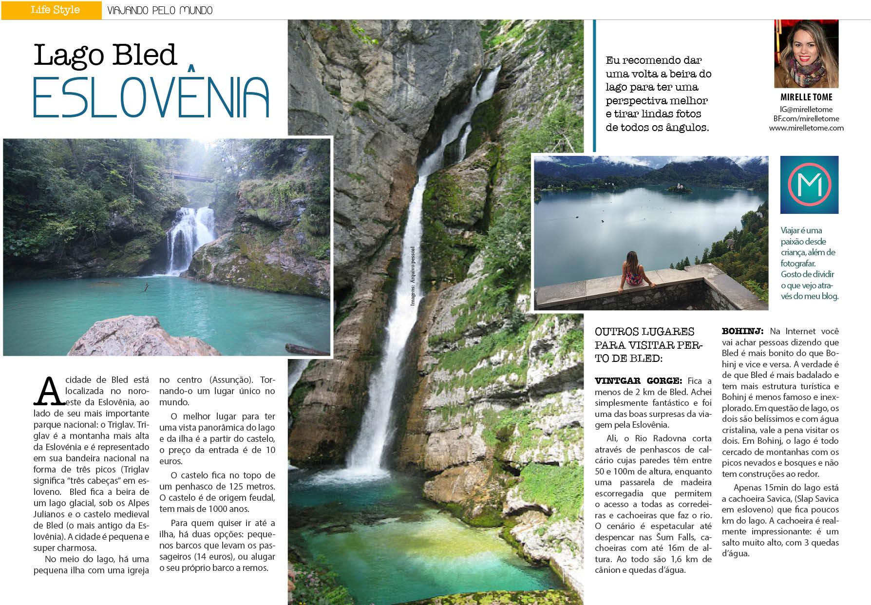 Lago Bled Eslovênia