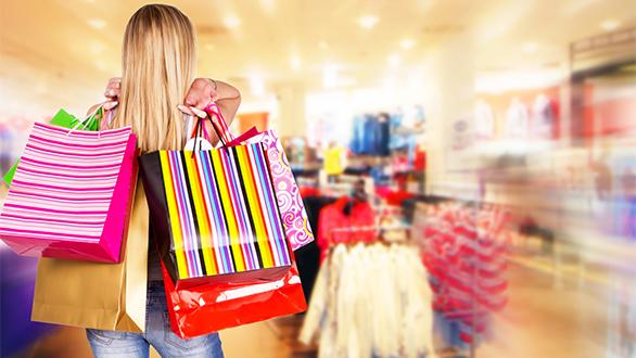 Quando as compras Natal pode se transformar em complexo de Becky Bloom