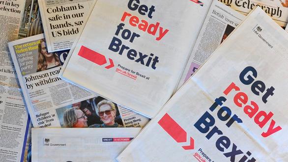 """Governo britânico lança campanha: """"Prepare-se para o Brexit"""""""