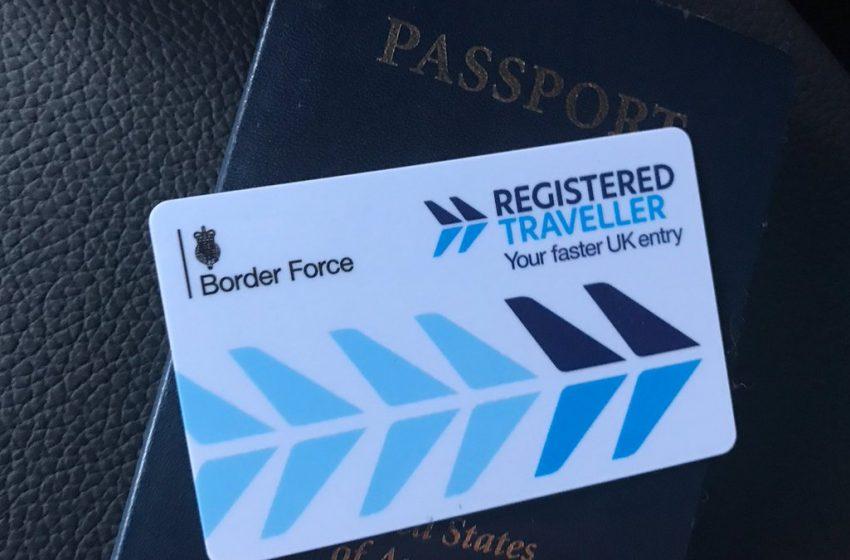 Registered Traveller: imigração mais rápida para quem viaja com frequência