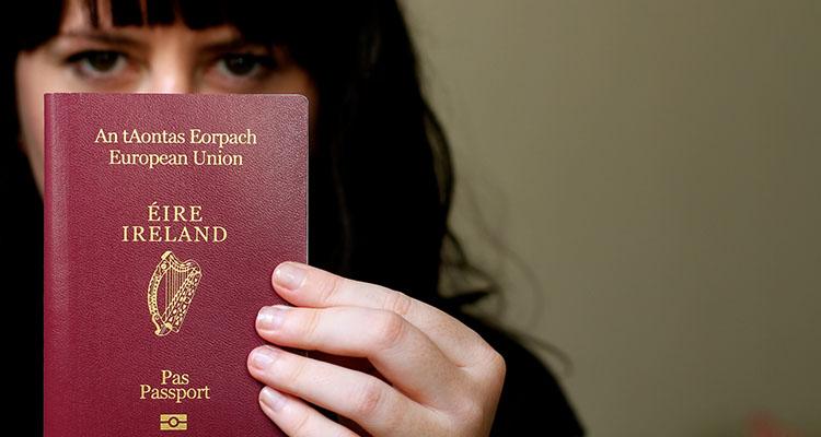 Passaporte Irlandês: descendência ou casamento
