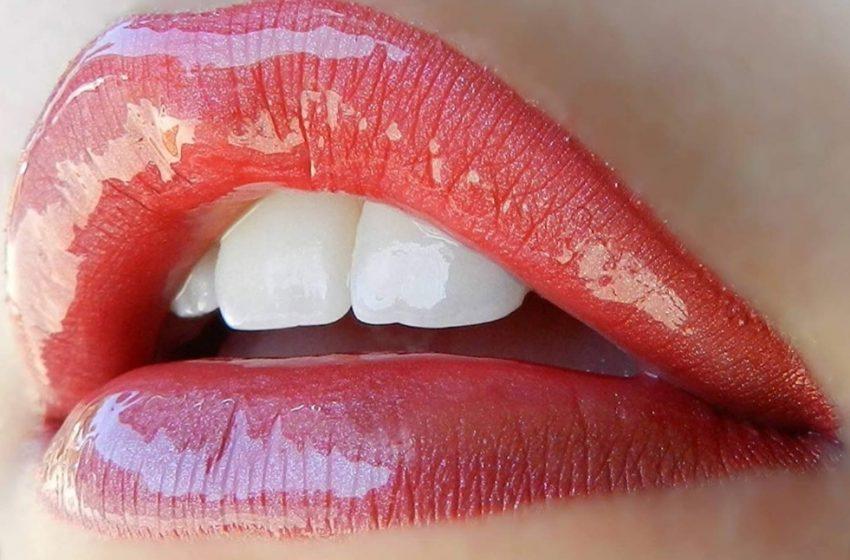 Você já ouviu falar do Lábios com jato de brilho?