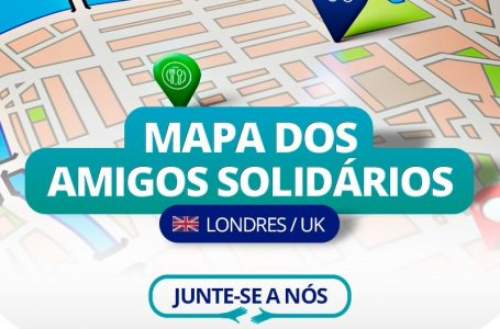 Ações comunitárias em Londres durante a pandemia