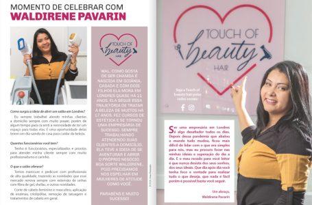 Entrevista  Waldirene Pavarin-Capa de Outubro/20