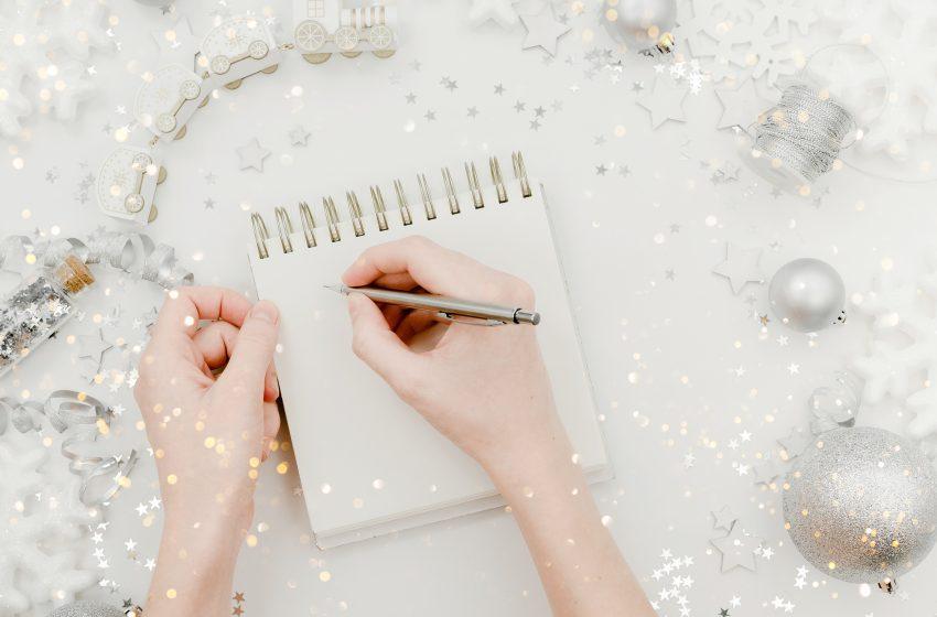 É hora de pensar em um novo ano com novas metas