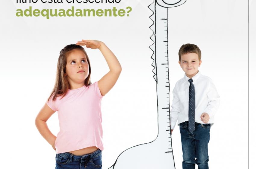Como saber se meu filho está crescendo adequadamente?
