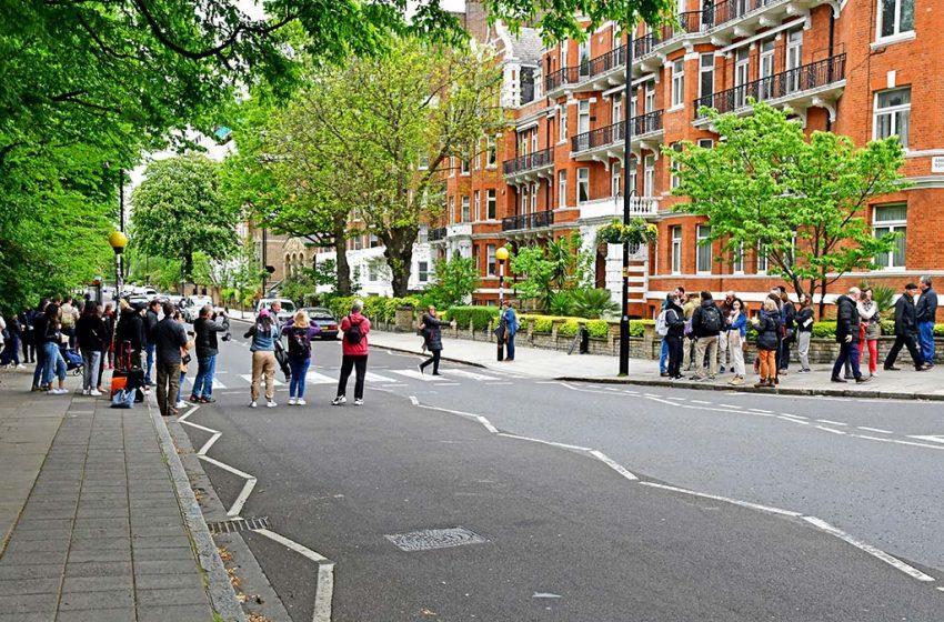Abbey Road dos Beatles em Londres