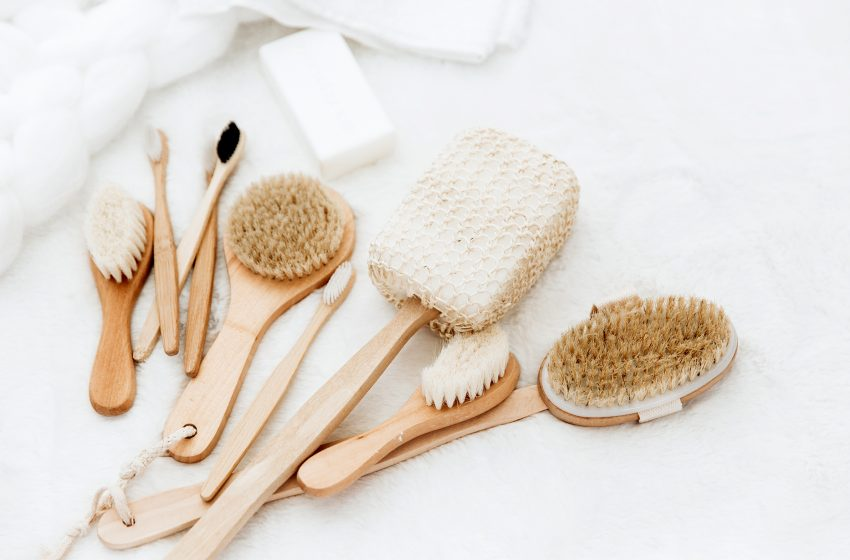 Você já ouviu falar em dry brushing